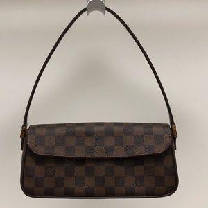 Louis Vuitton Recoleta Damier Ebene Brown